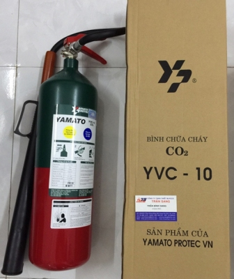 BÌNH CHỮA CHÁY KHÍ CO2 - 4.6 KG YAMATO/JAPAN